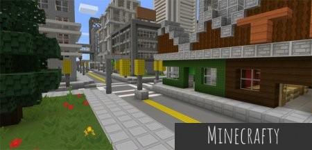 Скачать Paper Cut-Out [16x] для Minecraft PE 1.0.0
