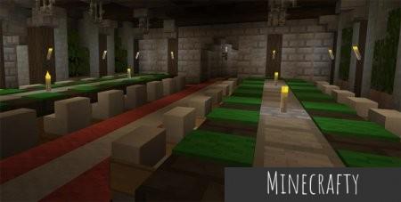 Скачать Feathercloud Deluxe [128x128] для Minecraft PE 1.0.0