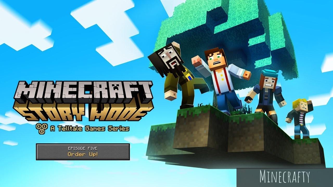 Minecraft story mode скачать бесплатно с trashbox